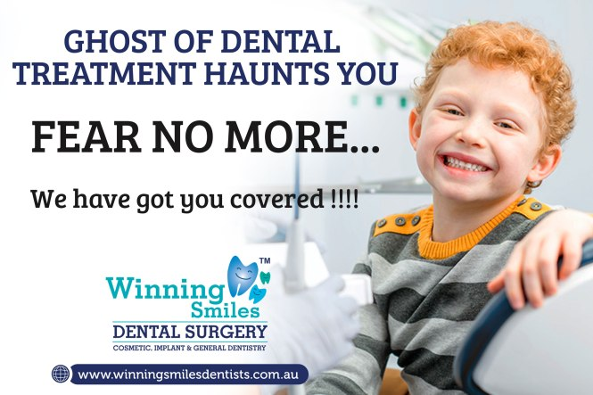 Ghost of dental treatment haunts you?